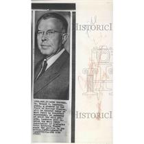1958 Press Photo Dr Ernest O Lawrence, Nobel Prize winner honored at West Point