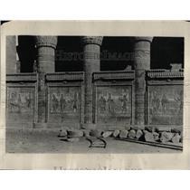 1930 Press Photo reliefs house creation Luxor Egypt - RRX63081