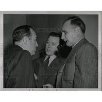 1945 Press Photo Walter Thomas Truman Washington Sugar - RRW92695