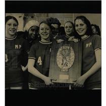 1979 Press Photo Volleyball girls Ann Cronin Seavers - RRW64875