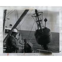 1962 Press Photo Coast Guard Crewmen Michigan - RRW92953