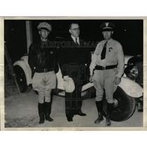 1933 Press Photo Highway Patrolman Mike Grady Snell - RRX80107