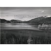 1956 Press Photo Whitefish Lake - spa57940