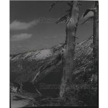 1954 Press Photo Priest Lake scene - spa58405