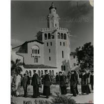 Press Photo Graduates Stetson University Law Building - RRX74203