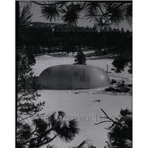 1960 Press Photo Sundance Radar Station - RRX72247