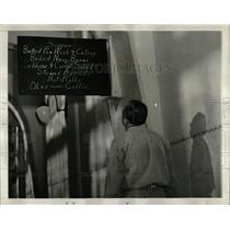 1939 Press Photo McNeil Island Prison Inmate Menu - RRW60475