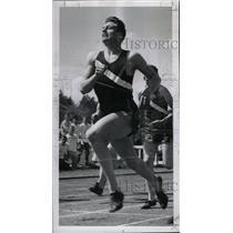 1950 Press Photo Jean Ronny Johnsen Football player - RRW80515