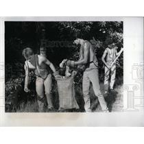 1983 Press Photo Dan Kissel Public Works Pasco Country