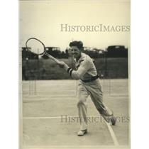 1930 Press Photo George Jennings battles for the National Public Parks title