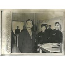 1970 Press Photo Nguyen Cau Ky Visits War College