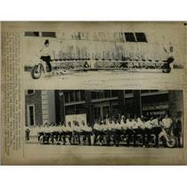 1974 Press Photo Eastern Illinois Shrine Club Bicycle - RRW63765