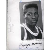 1990 Press Photo Kenyon Murray Central High Basketball - RRX40623