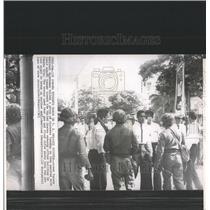 1965 Press Photo Panama Students March National Guards - RRX82209