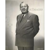 "Undated Press Photo Charles Laughton in Paramount drama ""The Big Clock"""