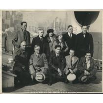 1930 Press Photo Eleven Members of the Syracuse Univ. Venezuelan Expedition.