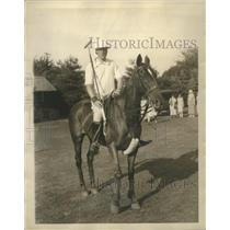 1922 Press Photo Malcolm Stevenson Crack Polo Player  - sbs07790