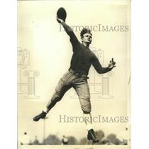 1936 Press Photo Don Heap, Northwestern University Halfback - sbs08112