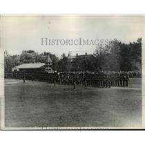 1932 Press Photo Governor Generals Footguards Regiment trooping of the colors
