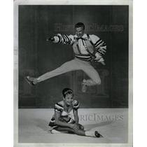 1964 Press Photo Otto Maria Brother Sister Star Act - RRW09331