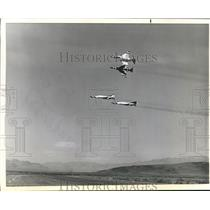 Press Photo Thunderbirds flying in their DIamond FOrmation - sbx05276
