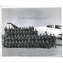 1973 Press Photo T-Birds Pilots  - sbx05279