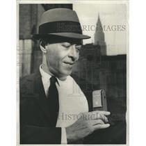 1961 Press Photo Bellboy Transistorized Radio Receiver - RRW51733
