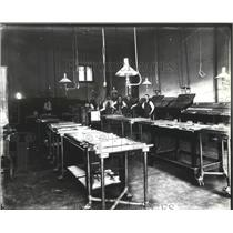 1897 Press Photo Composing Room-Mark-up of the Spokane Review newspaper
