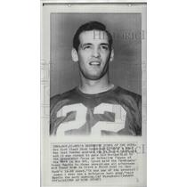 1965 Press Photo New York Giants football player, Dick Lynch  - sps09360