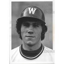 1977 Press Photo Washington State University baseball player, Marty Maxwell