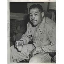 1947 Press Photo World heavyweight boxing champion, Joe Louis - sps09739