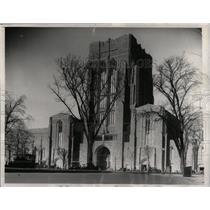 1931 Press Photo Yale University New Gymnasium