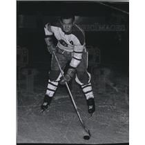 1969 Press Photo Gonzaga University hockey player, Bob Wilson - sps10485