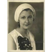 1931 Press Photo Alabama-Miss Virgil Dodd, stage actress. - abnz03672