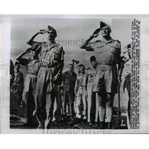 1954 Press Photo Brig Gen Christian de Castries at Hanoi Vietnam - nem40384