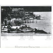 1980 Press Photo Southland Regatta Boat Races