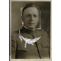 1918 Press Photo Col J.W. McIntosh Chief of Subsistence Division of U.S. Army