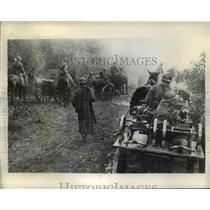 1935 Press Photo Tactical drill of Moscow Proletarian Rifle division