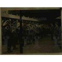 1922 Press Photo Some 1000 Officers at Uxbridge Station Left for Southampton