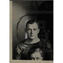 1933 Press Photo James Miller Michigan Football Player - RRW71145