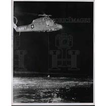 1963 Press Photo United States Navy Helicopter - nem43196