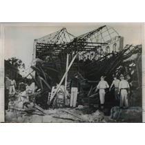 1953 Press Photo Firemen Search Wreckage of Munitions Factor 14 Dead - nem44439