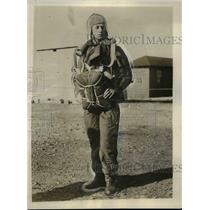 1928 Press Photo Fred Melchoir Flies to Rescue Bremen Plane in Greenly Island