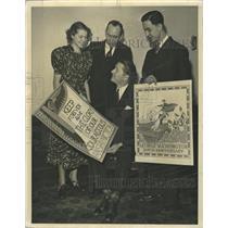 1937 Press Photo Union League poster contest winners - RRW38603