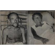1967 Press Photo French Bourdens Survive Aust, Island - RRX22597