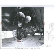 1959 Press Photo Detroit Police Harbormaster