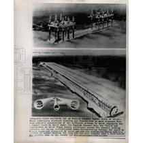 1964 Press Photo A tunnel under the English Channel - RRW24271