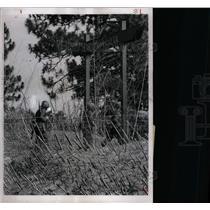 1966 Press Photo Soldiers Simulated Vietnamese Village - RRX72011