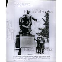 1968 Press Photo Booker T Washington Statue Negro - RRX36739