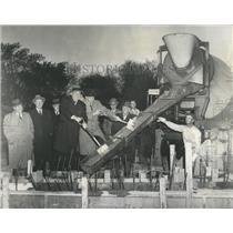 1958 Press Photo Pool American Games - RRW51935